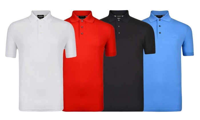 Polo homme ferrara hugo boss groupon for Hugo boss polo shirts xxl