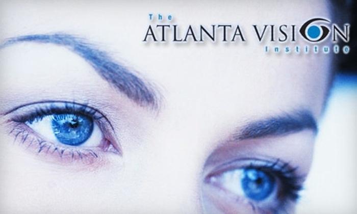 Atlanta Vision Institute - Multiple Locations: $975 for Custom Lasik Eye Surgery for One Eye at Atlanta Vision Institute ($2,250 Value)