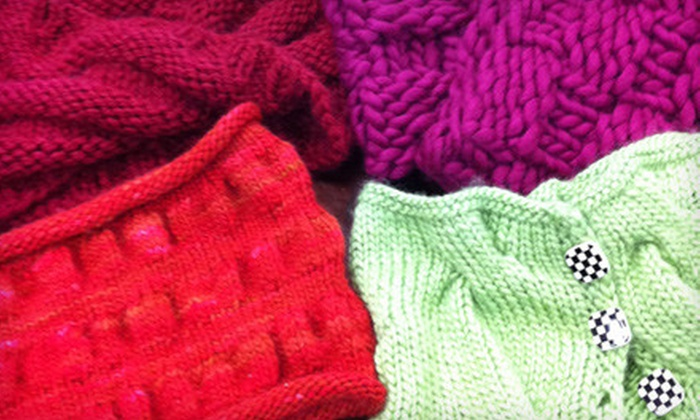 Knit Schtick - Costa Mesa: $25 for Five Knitting Classes at Knit Schtick in Costa Mesa ($50 Value)