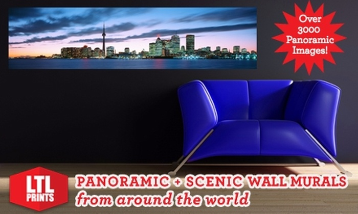 LTL Prints: $35 for a Panoramic Wall Mural from LTL Prints ($86 Value)