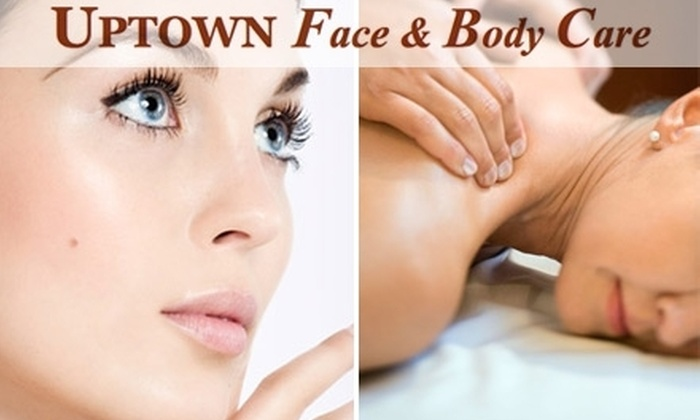 Uptown Face and Body Care - Montrose Verdugo City: $25 for $55 Worth of Spa Services and Products from Uptown Face and Body Care