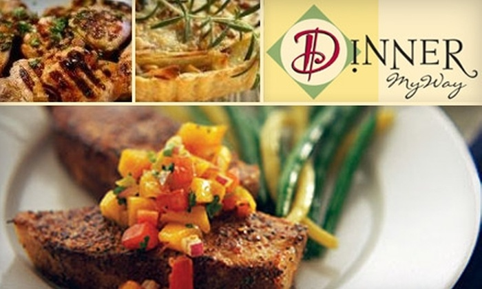 Dinner MyWay - Clovis: $42 for Five Three-Serving Ready-to-Cook Meals from Dinner MyWay in Clovis (Up to $85 Value)
