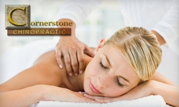 Cornerstone Chiropractic - Metzger: $79 for a Chiropractic Exam, Treatment, and 30-Minute Massage at Cornerstone Chiropractic (Up to $380 Value)