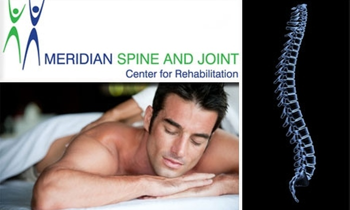 Meridian Spine and Joint - Washington: $39 for Chiropractic Consultation, Exam, Adjustment, and Half-Hour Massage at Meridian Spine and Joint