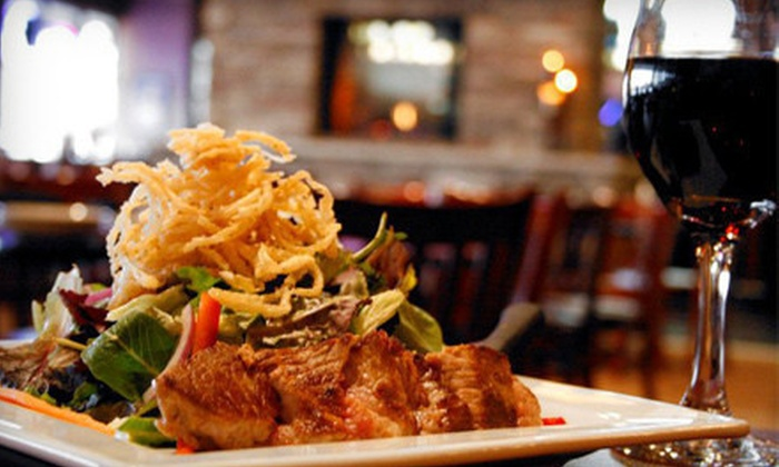 Fireside Bar & Restaurant - Rosemount: Prix Fixe Meal with Wine for One, Two, or Four at Fireside Bar & Restaurant (Up to 63% Off)