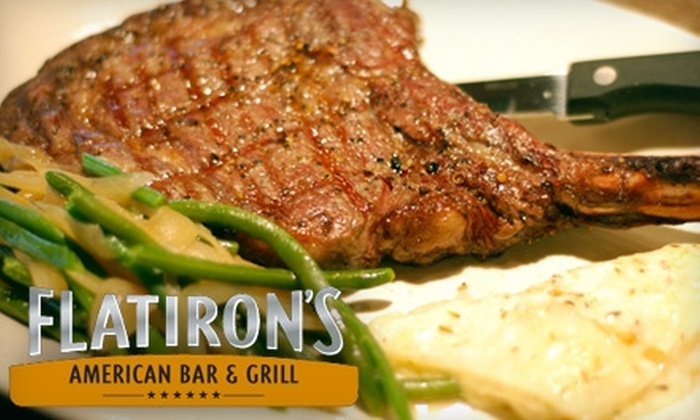 Flatiron's American Bar & Grill - Broadmoor: $7 for $15 Worth of Pub Fare and Drinks at Flatiron's American Bar & Grill