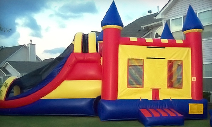 Celebration Central - Atlanta: Basic, Bronze, or Gold Bounce-House Rental Packages from Celebration Central (Up to 52% Off)