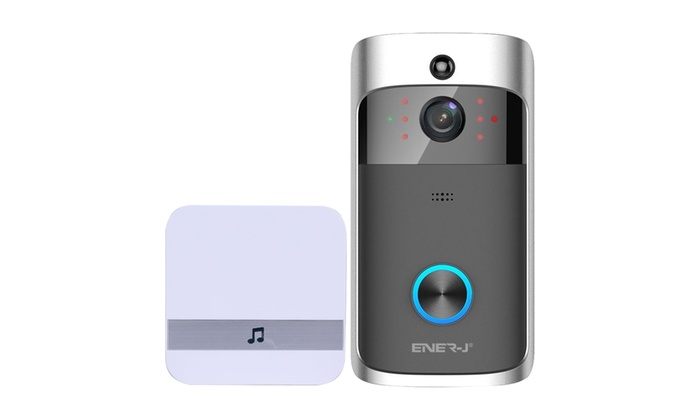 Wi-Fi Smart Video Doorbell with Chime