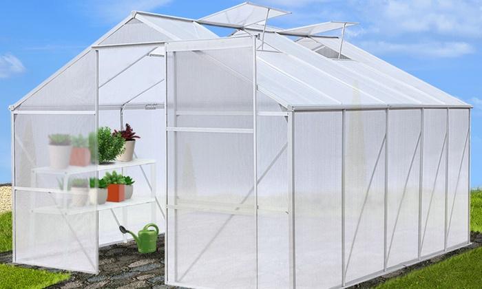 Groupon Goods Global GmbH: Serres de jardin, taille au choix dès 159,99€