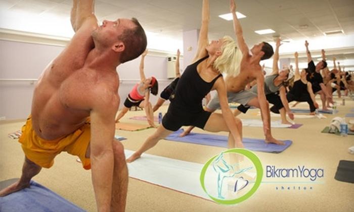 Bikram Yoga Shelton - Shelton: $30 for One Month of Unlimited Classes for New Students ($99 Value) or $65 for Existing Clients ($160 Value) at Bikram Yoga Shelton