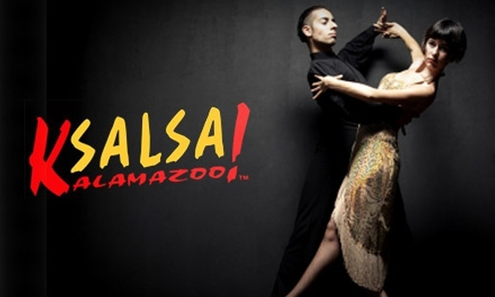 Kalamazoo Salsa - Vine: $10 for Two VIP Seats to Miami Night Friday from Kalamazoo Salsa at the Blue Dolphin Restaurant ($20 Value). Choose From Three Dates.