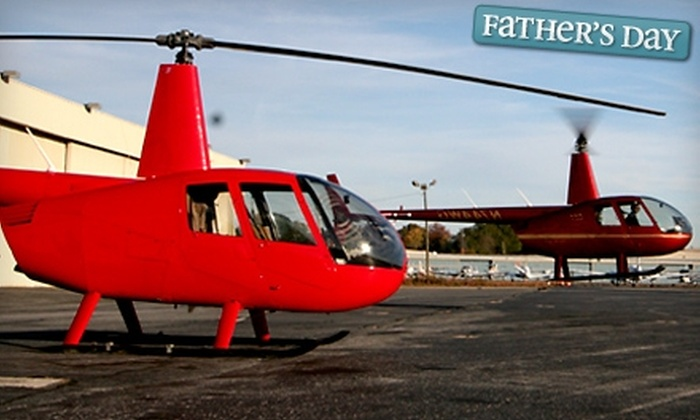 Prestige Helicopters, Inc. - Atlanta: Helicopter Tour for Two or Helicopter Tour for Three from Prestige Helicopters, Inc.