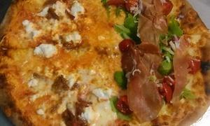 GNAM GNAM: Menu d'asporto con pizza a scelta e birra per 2 o 4 persone da Gnam Gnam (sconto fino a 61%)
