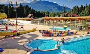 Thermal & Ski Resort Meander Oravice: Termy Orawice: całodzienne bilety wstępu (od 44,99 zł) lub bilety rodzinne (od 109,99 zł) w parku termalnym na Słowacji