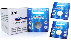 ACDelco Lithium Button Cell Batteries (24-Pack)