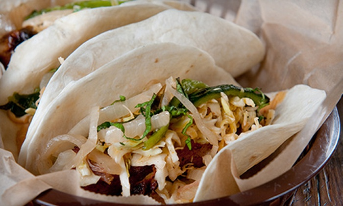 Rock 'N Tacos - Walnut Valley: California Cuisine at Rock 'N Tacos (Half Off). Two Options Available.