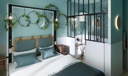 Groupon.it - Parigi: soggiorno in camera doppia con colazione e drink di benvenuto per 2 all'hotel Ibis Styles Paris Montmartre Nord