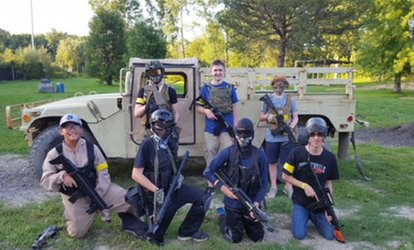 image for <strong>Paintball</strong> Package with Gear and 100 <strong>Paintballs</strong> Per Person for One, Two, or Four at Futureball (Up to 53% Off)