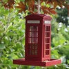 Oakdale Telephone Box Bird Feeder