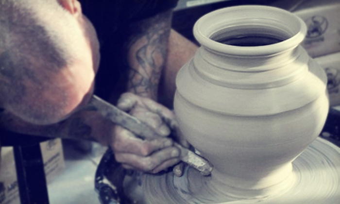 Sunin Clay Studio - Wetmore: One or Two Handbuilding or Wheel-Throwing Pottery Classes at Sunin Clay Studio (Up to 51% Off)