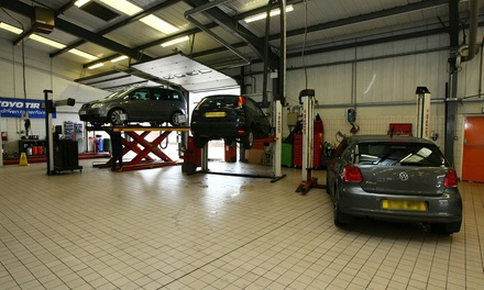 MOT and Winter Check at Fife Autocentre