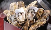 【最大50%OFF】新鮮な牡蠣を好きなだけ堪能≪がんがん焼きなど食べ放題120分/他1メニュー≫ @浜の牡蠣小屋