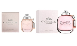 Coach New York Fragrances for Women. Multiple Options Available.