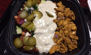 Greek, Mediterranean, and Middle Eastern Fusion at Mezze (Up to 32% Off). Two Options Available.