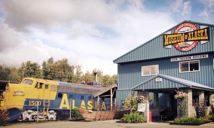 Museum of Alaska Transportation and Industry - Chugiak: Family Visit or Membership at Museum of Alaska Transportation and Industry (Up to 51% Off)