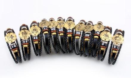 Bracelets Zodiaque au choix de la marque Romatco en simili cuir