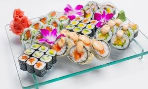 Japan Sun Sushi & Grill: Wybrany zestaw sushi od 75,99 zł w Restauracji Sushi Japan Sun w Rybniku (- 42%)