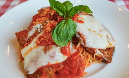 $10 for $16 Towards Dine-In or Carry-Out Lunch at Squisito Pizza and Pasta