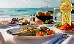 """מסעדת בני הדייג במרינה הרצליה פיתוח: מסעדת בני הדייג במרינה הרצליה: ארוחה זוגית שווה במיוחד ב-198 ₪ או ארוחה לרביעייה ב-389 ₪ בלבד. גם בסופ""""ש"""
