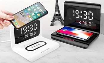 Wireless Charging Clock