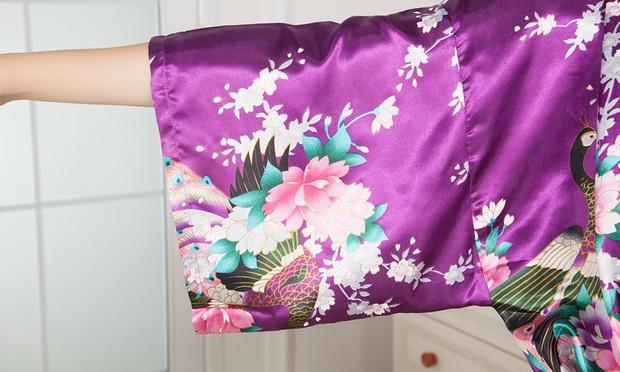 Floral Print Kimono Robe: One ($15) or Two ($25)