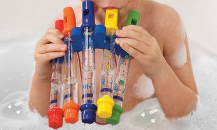 Set of Five Bath Water Flutes
