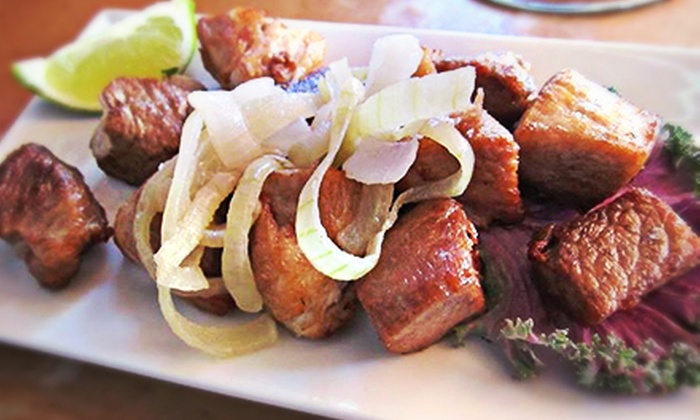 Bongos Cuban Café - Hollywood: Cuban Food and Drinks for Two or Four at Bongos Cuban Café (Half Off)