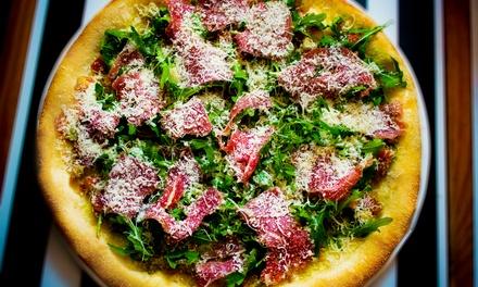 Pizza, sałatka, risotto, makaron