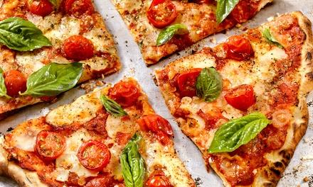 Pizza of pasta incl. drankje voor 26 personen bij Cyrus De Grote