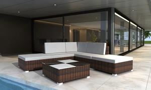 15- or 24-Pcs Rattan Seating Set