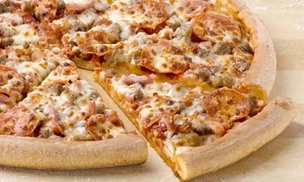 One, Two, or Three Large Pizzas with Up to Five Toppings and Sides at Papa John's (Up to 71% Off)