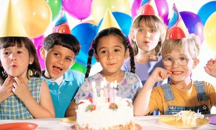 Fiesta de cumpleaños en parque infantil para 15 o 20 niños desde 64,95 € y con fuente de chocolate desde 74,95 €
