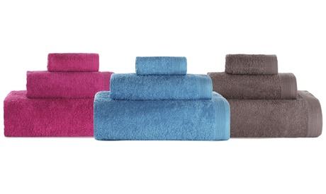 Juego 3 toallas de baño de algodón
