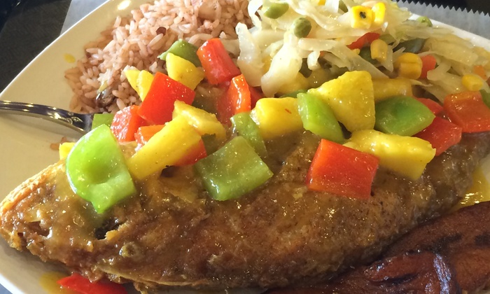 Mango's Jamaican Kitchen & Grill - St. Albans: $28 for $50 Worth of Jamaican Food — Mango's Jamaican Kitchen & Grill