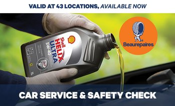 Car Service and Safety Check Pkg