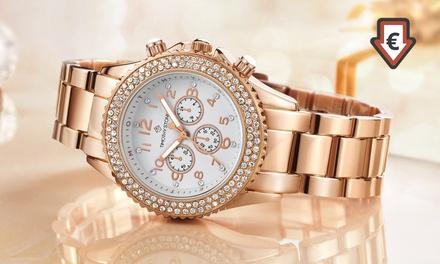 Montre de la marque Timothy Stone ornées de cristaux Swarovski®, collection Amber dès 16,90 €, livraison offerte