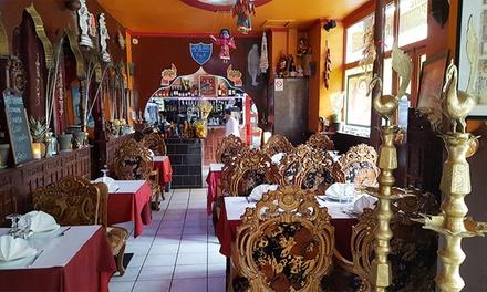 Menu découverte indien en 4 services pour 2 personnes à 29,90 € au restaurant Royal Bombay