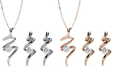 Set de joyería hecho con cristales de Swarovski®