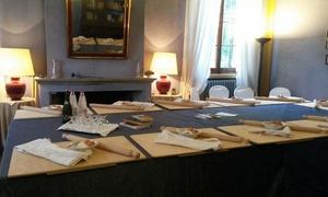 VILLA LA TORRE RISTORANTE: Lezione di sfoglia e cena per una o 2 persone al ristorante Villa La Torre (sconto fino a 58%)