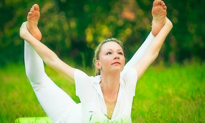 Yoga Archer - Afton Oaks/ River Oaks: One Month of Unlimited Yoga Classes or 10 Drop-In Classes at Yoga Archer (Up to 69% Off)